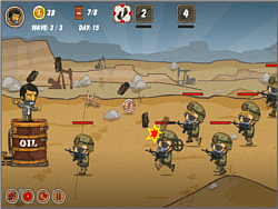 Gulf Defence game