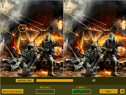 Brave Soldiers Difference game