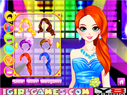 Annual Glamour Prom Dress Up game