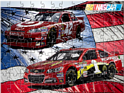 Nascar Cars Jigsaw game