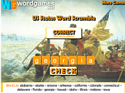 US States Word Scramble لعبة