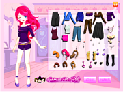 Bella Dress Up game