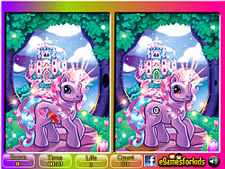 Pony 6 Differences game