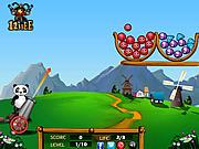 Juega al juego gratis Panda Cute Balls