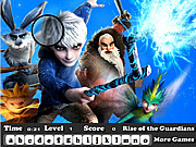 Rise of the Guardians Hidden Letter game