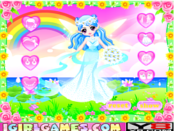 Cutie Fairy's Wedding Dress game
