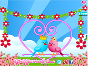 Juego Lovebirds Decoration