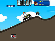 Ben Girlfriend on ATV game