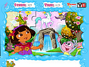 Jolly Jigsaw Puzzle - Dora the Explorer