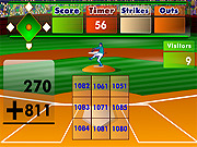 Juega al juego gratis Batter's Up Base Ball Math - Addition Edition