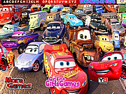Wonder Cars Hidden Alphabet لعبة