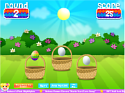 Easter Egg Scramble game