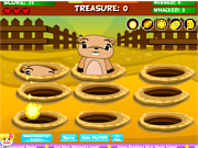 Juega al juego gratis Whack a Mole - Search For the Stolen Treasure