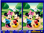 Mickey Mouse 6 Differences game
