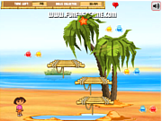 Dora and diego beach treasure: game