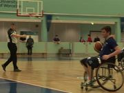 Watch free video University Competition in Wheelchair Basketball