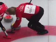 Unusual Sport Game Curling