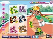 Rollerblade Fun Dressup game