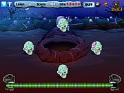 Juega al juego gratis Zombie Skulls
