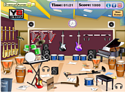 Messy Music Room game
