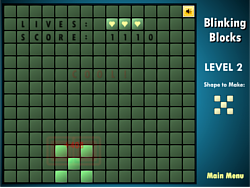 Blinking Blocks game