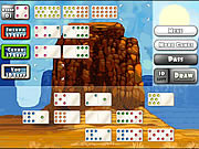 Jucați jocuri gratuite Mexican Train Dominoes Gold