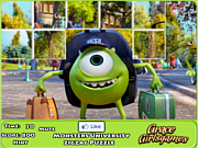 שחקו במשחק בחינם Monster University Zigzag Puzzle