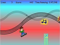 Techno Surff game