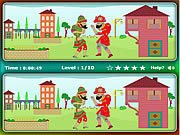 Hacivat and Karagoz Differences game