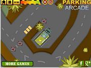 Army Vehicles Parking game