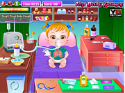 Baby Hazel Goes Sick game