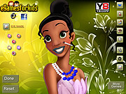 Tina Princess Makeover game