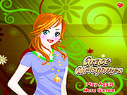 Fashion Girl Dressup game
