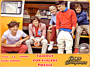 เล่นเกมฟรี Famous pop singers puzzle
