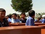 Watch free video Marines Help Afghan Kids Get New Desks