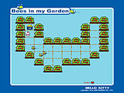 Juega al juego gratis Hello Kitty: Bees In My Garden