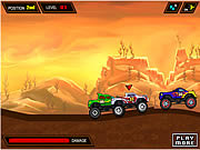 Juega al juego gratis Monster Hill Ride