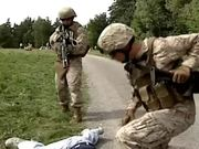 Watch free video Marines Use Non-lethal Force During Demonstration