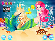 Juega al juego gratis Mermaid Secret Beauty