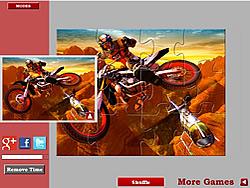 Dirtbike Jigsaw game