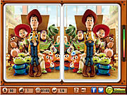 Toy Story - Spot the Difference game