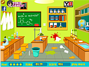 Clean Up My Laboratory لعبة