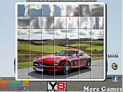 Mercedes SLS Spin Puzzle game