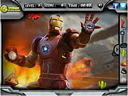 Juega al juego gratis Iron Man 3 Hidden Objects