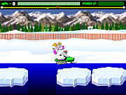 Snowmobile Rally game
