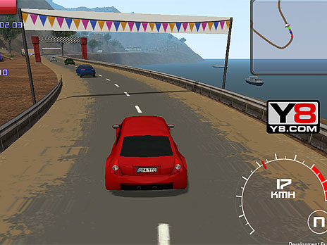 Racing Red 3D game