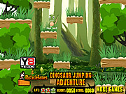 Dinosaur Jumping Adventure game