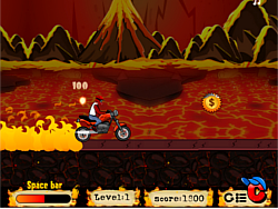 Burning Path game
