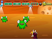Ninja vs Aliens game