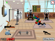 Stickman Death Gym game